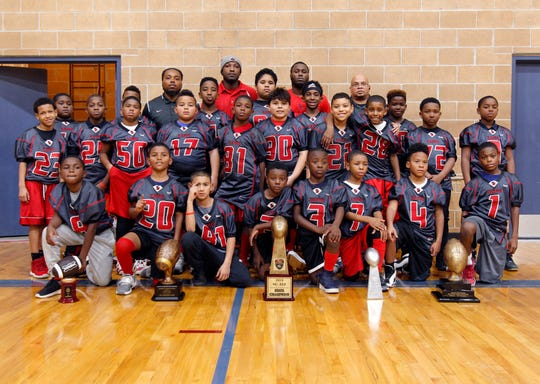The Kappa Express 9-and-under football team has won city, state and regional championships this season. But the team received a second place trophy after it won the regional game because officials said paperwork wasn't submitted in time for qualification purposes.