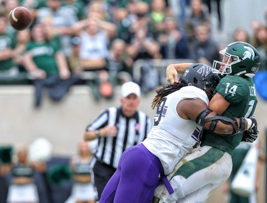 Michigan State football vs. Northwestern