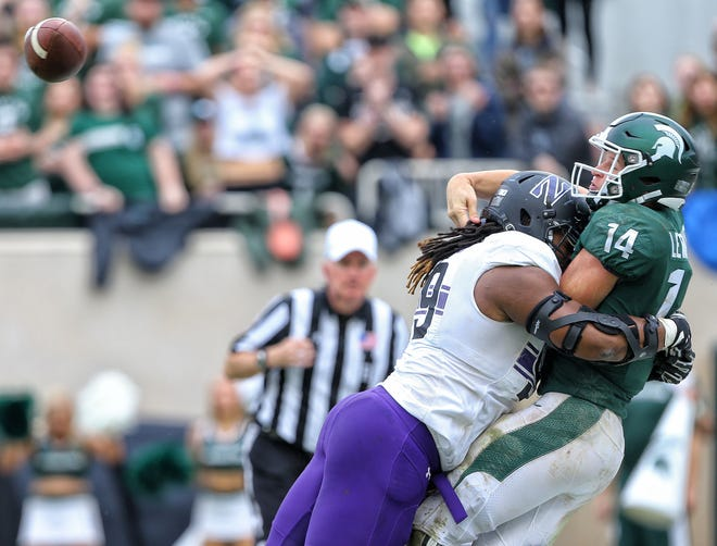 Northwestern popped Michigan State, 29-19, on Oct. 6 in East Lansing on its way to the Big Ten Championship game.