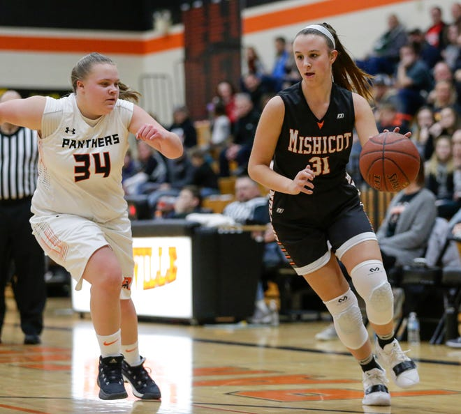 Mishicot's Kylie Schmidt is just a sophomore but leads the No.4-ranked Indians in scoring.