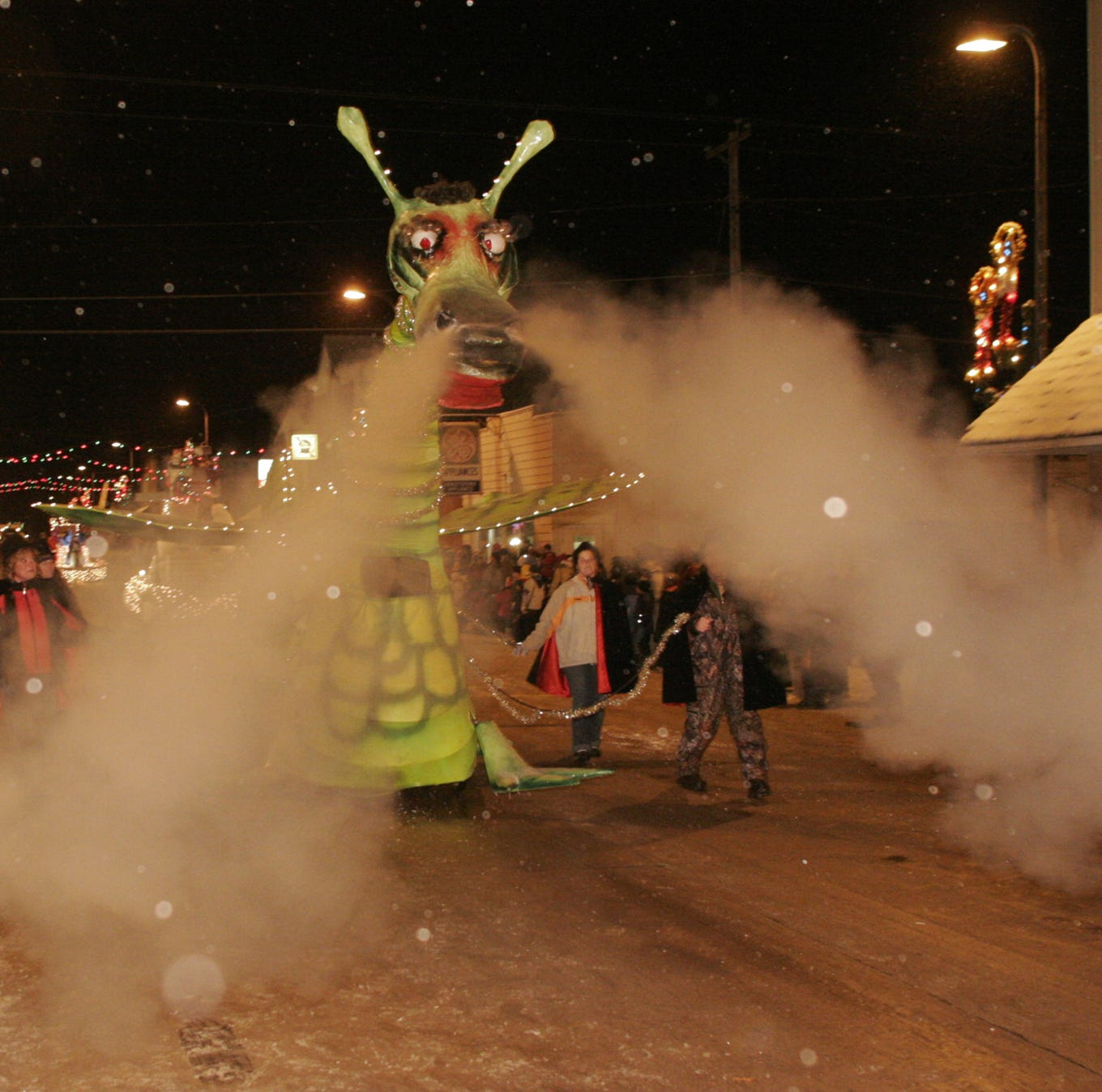 Abbotsford Christmas Parade: Puff the Magic Dragon comes to life for one night each year