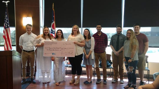 United Way of Marion County collaborates with OSU-Marion to teach local college students about philanthropy and grant making. English professor Amy Tibbals advises the Pay It Forward student group, which this year chose to support Marion's Boys and Girls Club.