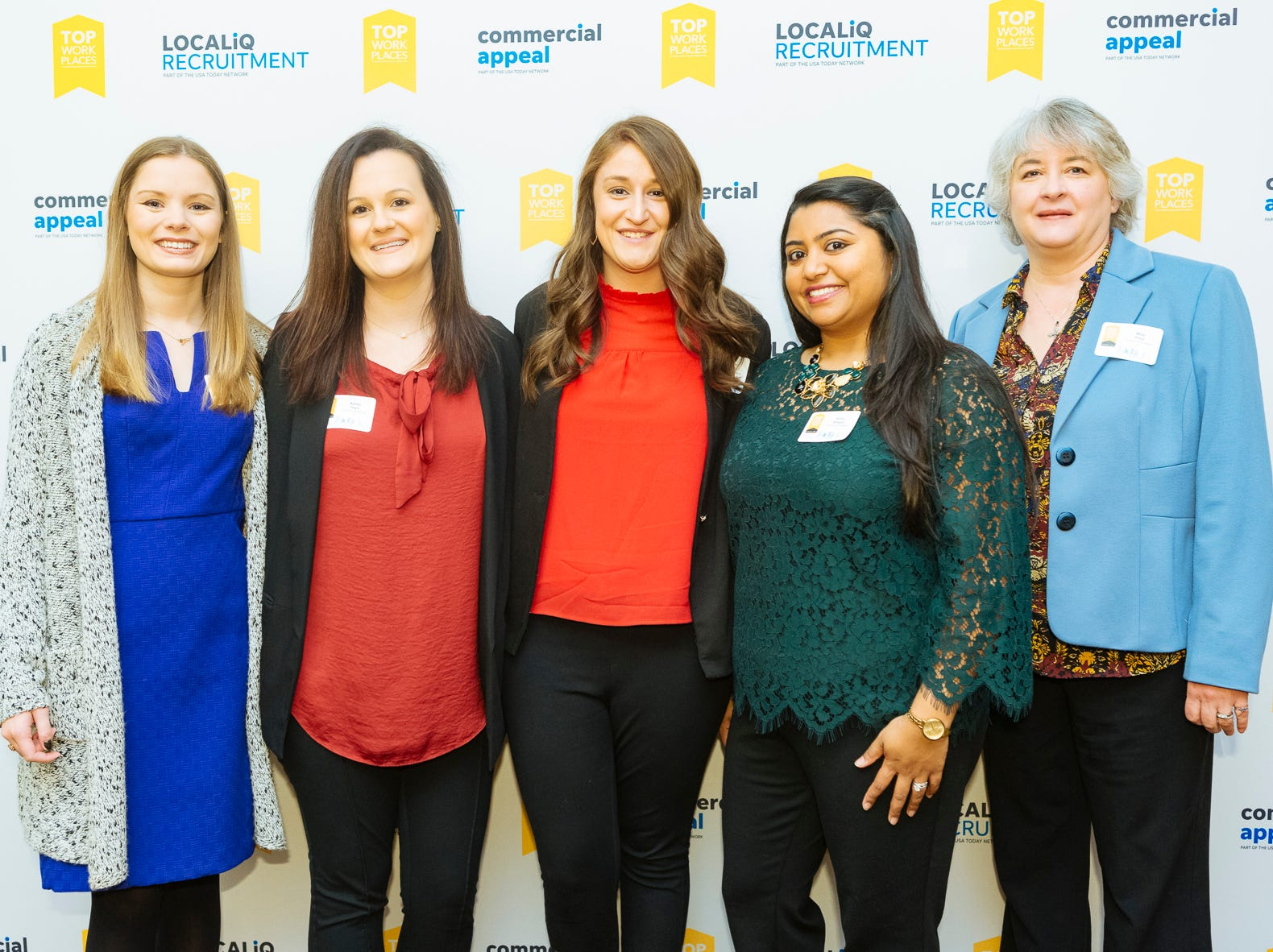 Scenes from the Commercial Appeal Top Workplaces 2018 winners breakfast held Thursday, Nov. 29, 2018 at the Hilton Memphis.