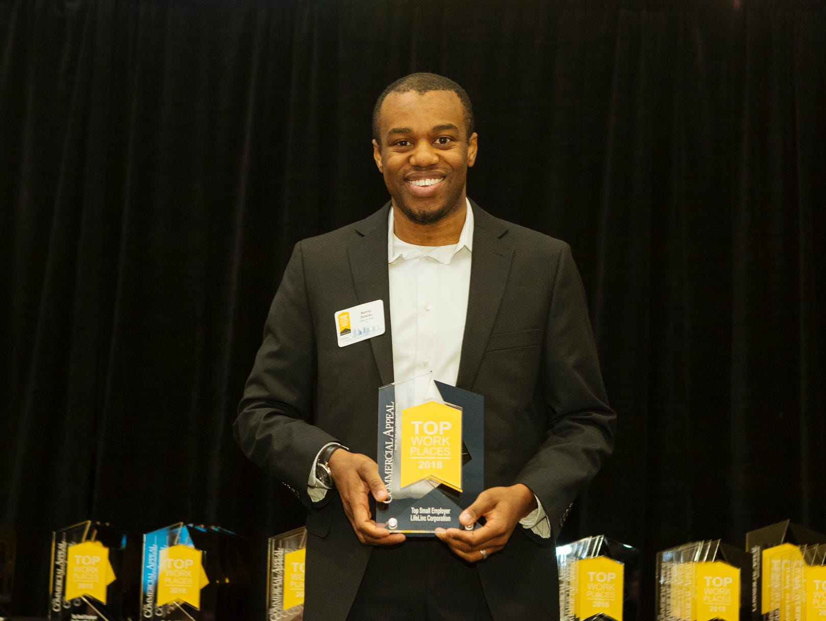 Kenric Duncan, with LifeLinc Corporation, a Top Small Employer.