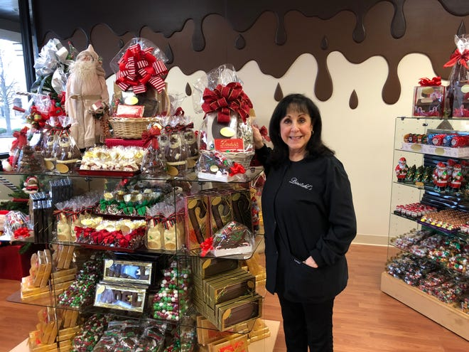Dinstuhl's owner Judy Moss at the new location at 231 New Byhalia Rd. in Collierville. This is the fourth location for the Memphis candy company.