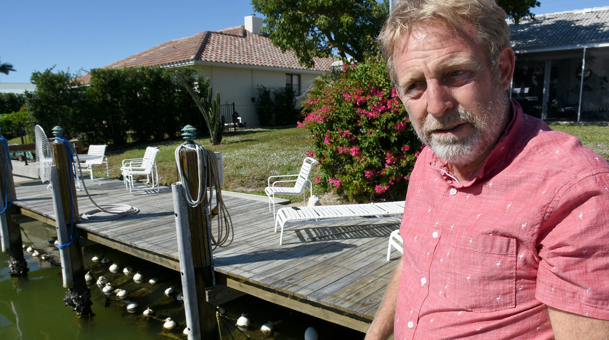 Jim Timmerman, a Marco Island resident, has been on a quest to improve the quality of the water that surrounds the island.