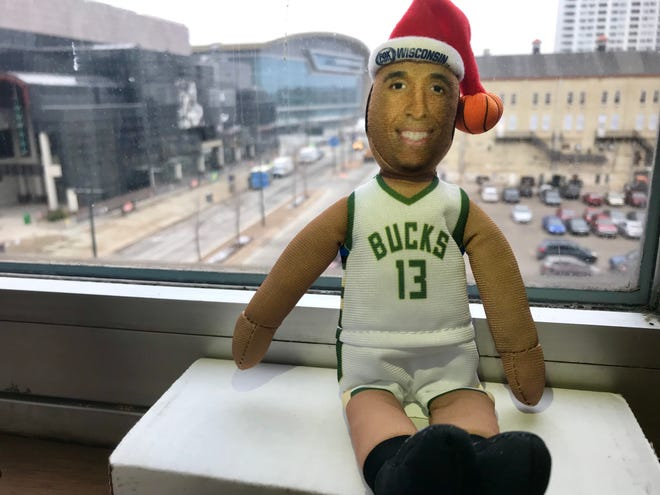 The Milwaukee Bucks are giving away 'Malcolm on the Mantle' to fans 14 and under at their Dec. 19 holiday game.