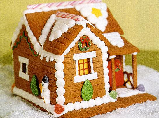 Build a gingerbread house Dec. 9 at Pastiche at the Metro