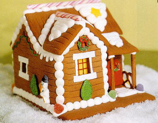 A workshop at Pastiche at the Metro downtown on Dec. 9 will show how to build a gingerbread house.