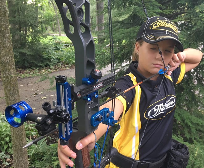 Cameron Katz, a Swallow School District student, won a state and national archery competition this year.