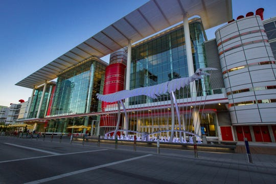 George R. Brown Convention Center in Houston, TX.