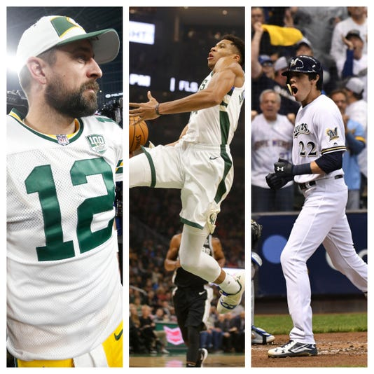 Three goats of Wisconsin pro sports