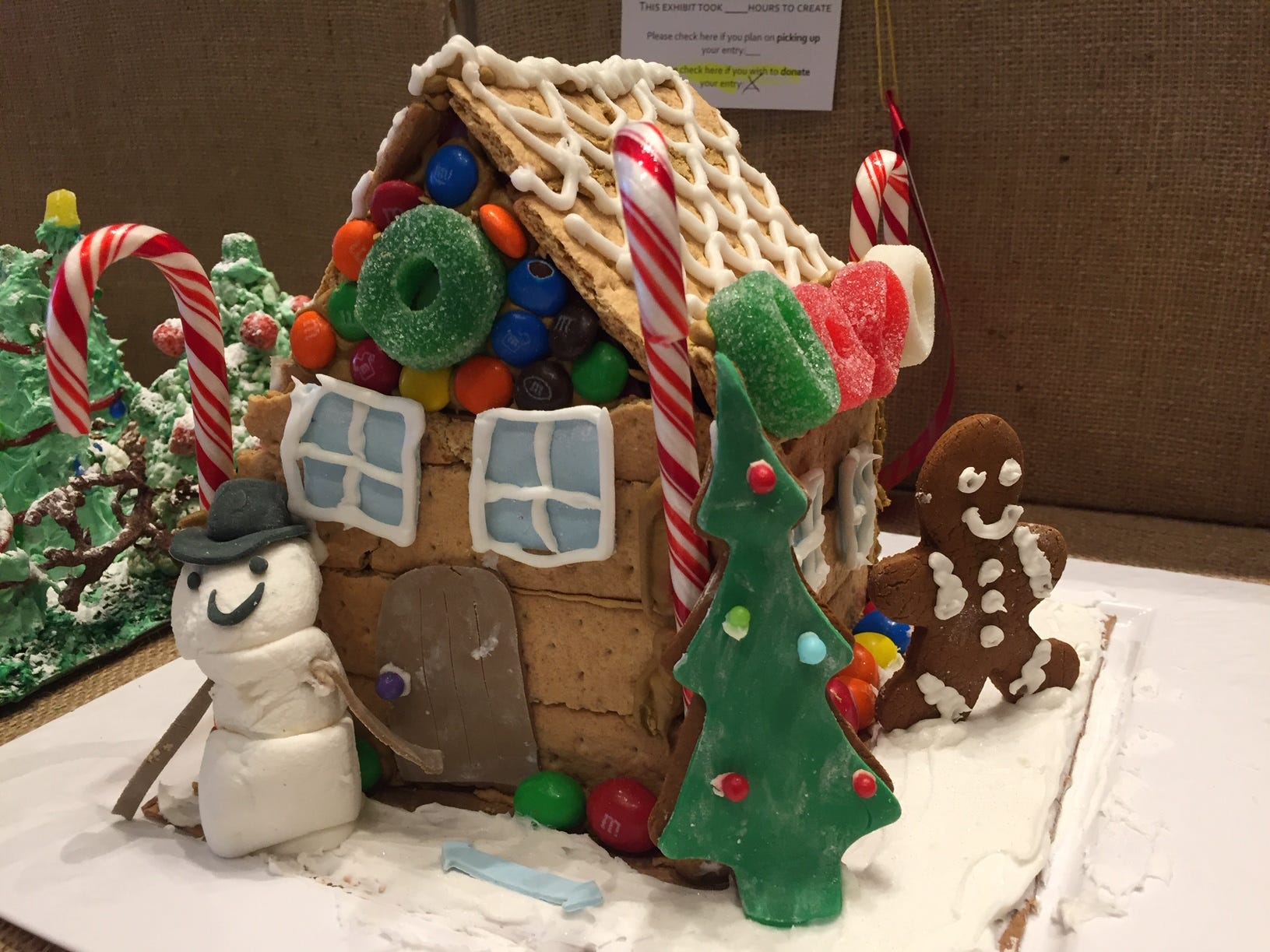 """Winter Wonderland"" by Independence 360, Whippany, at the Gingerbread Wonderland at the Frelinghuysen Arboretum. Special Needs category."