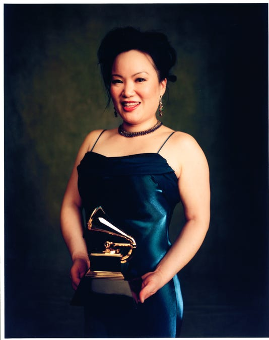 Angelin Chang With Grammy