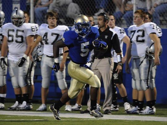 Rajaan Bennett, McEachern High School, a Vanderbilt football signee who was killed on Feb. 18, 2010.