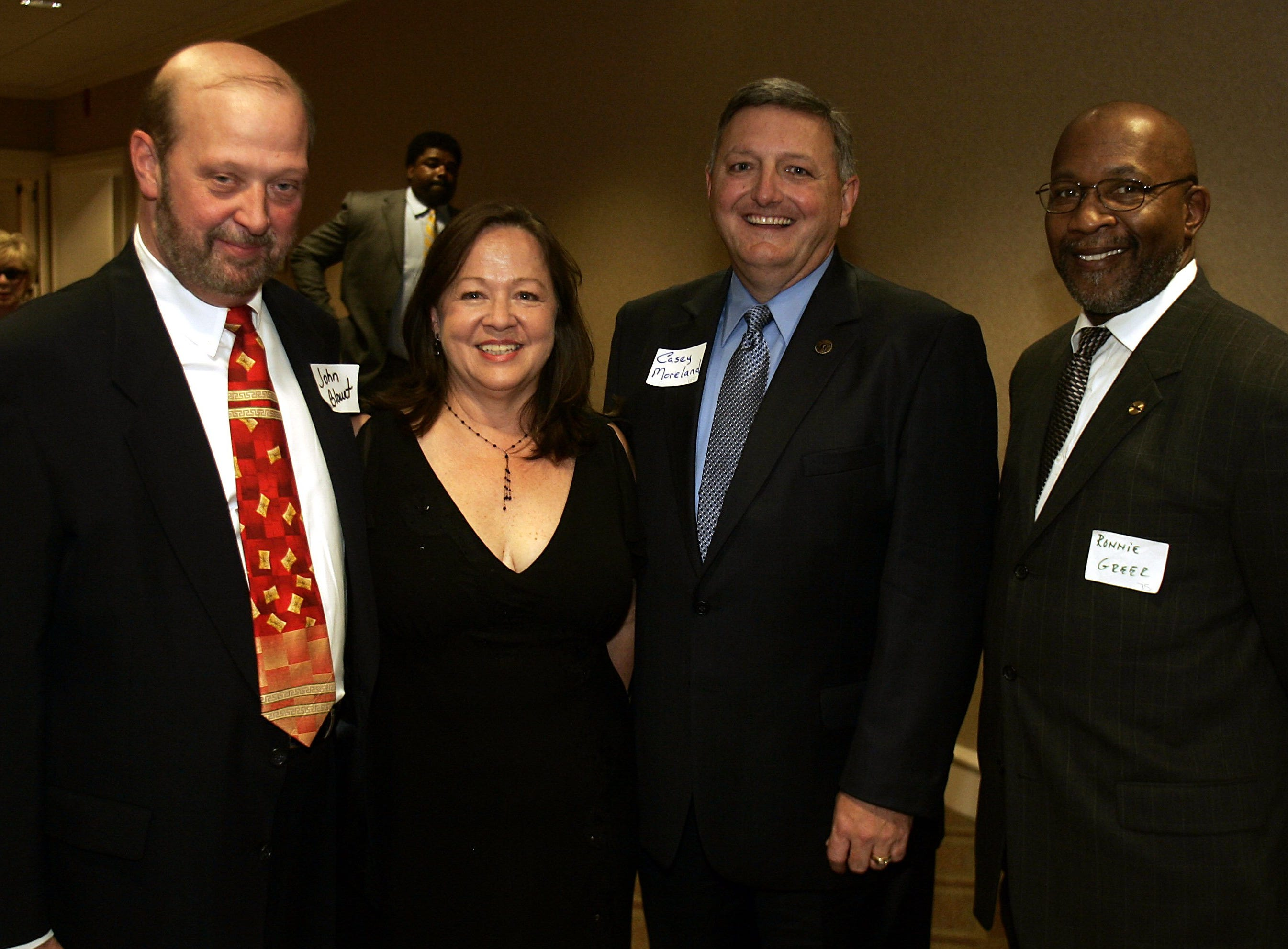 John Blount, Nan Casey, Casey Moreland  and Ronnie Greer attend an Alcohol and Drug Council of Middle Tennessee fundraising event May 25, 2006.
