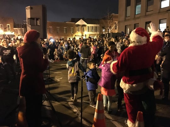 Gallatin held its annual Christmas tree lighting ceremony in the downtown square on Thursday, Nov. 29, 2018.