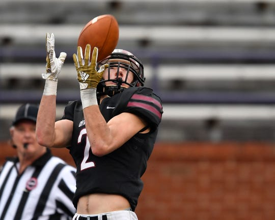 Davidson Academy wide receiver Jared Vetetoe could be moving to quarterback.