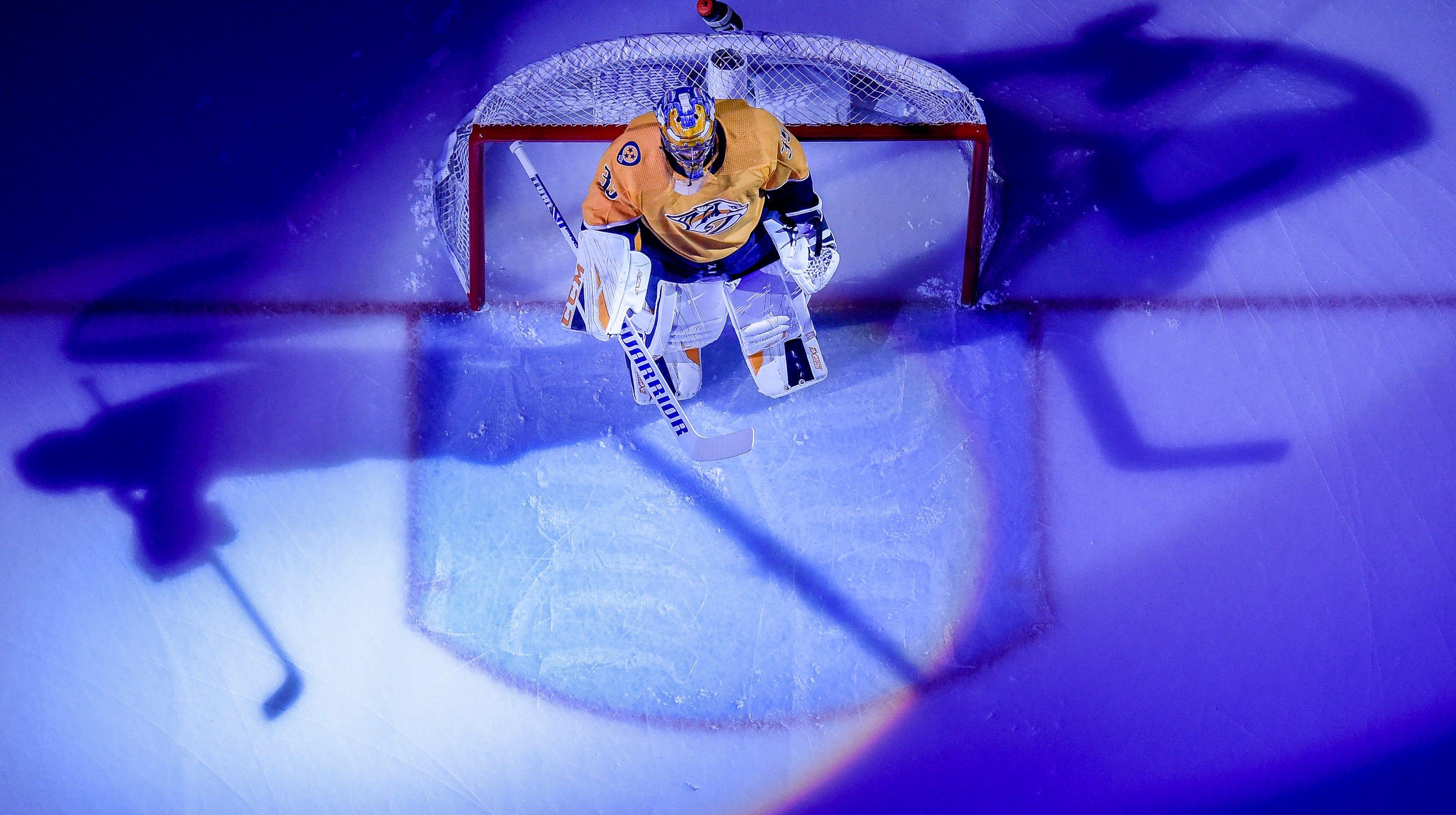 Nashville Predators Goalie Pekka Rinne Talks Twins Pads And More