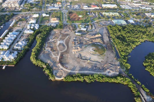 NEW Baker Park aerial