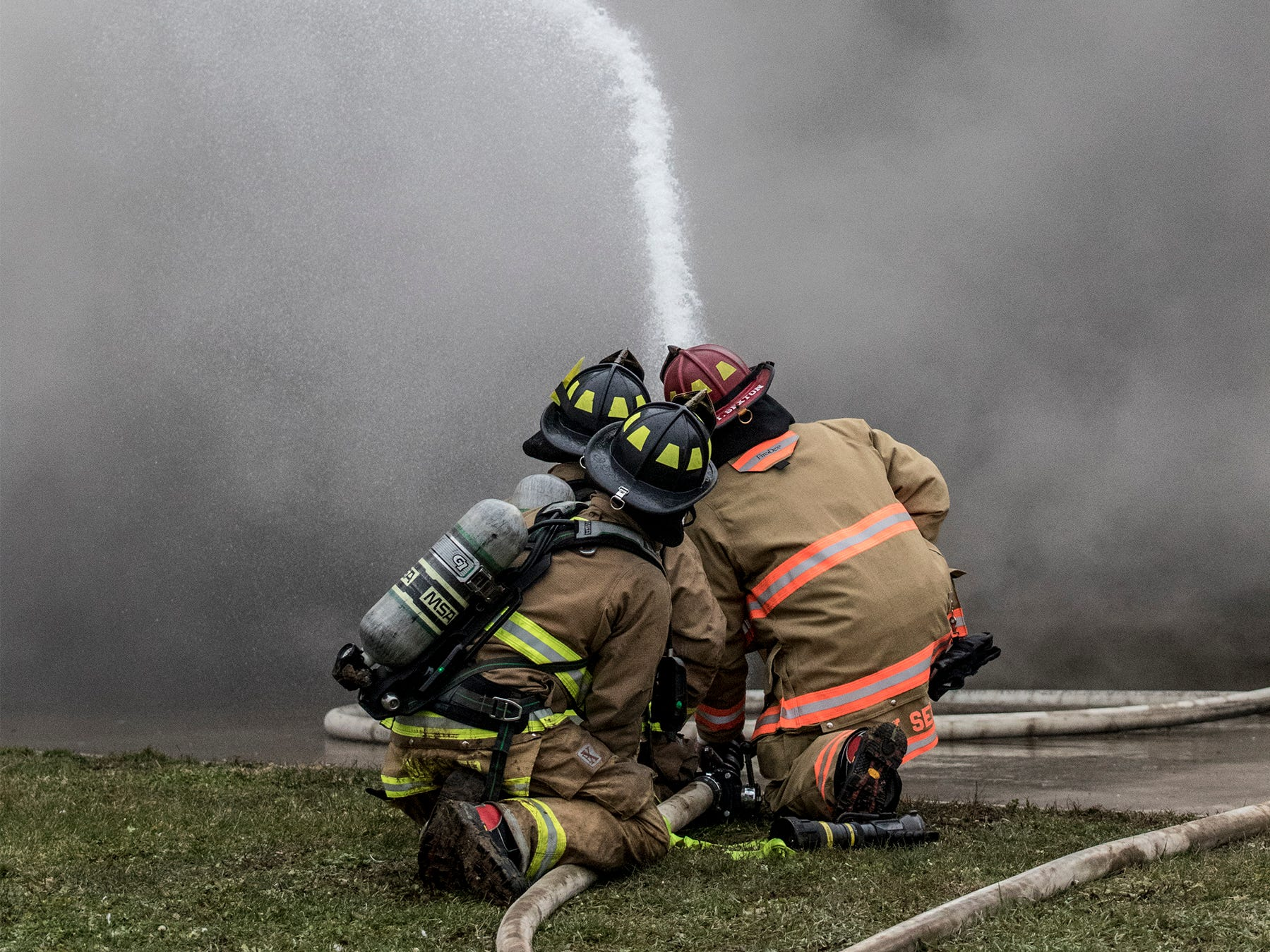 A fire started in one of the chicken barns at Trillium Farms in Croton. The fire was contained to one building, which is a total loss. Fire crews from multiple surrounding townships responded to the fire. No workers were injured in the fire, one hen escaped. The cause is still being determined.