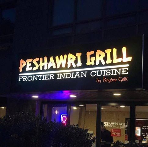 The Peshawri Grill was damaged by a stove fire two weeks ago.