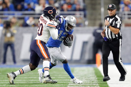 Nfl Chicago Bears At Detroit Lions