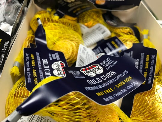 "Hanukkah ""gelt"": Chocolate gold coins are a rich reward"