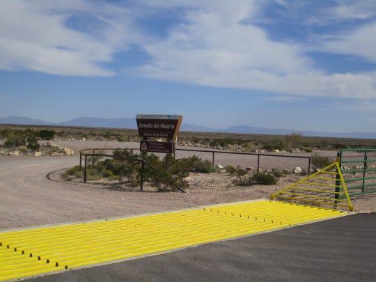 Hikers will appreciate the access to the Jornado del Muerto trail via the southern road.