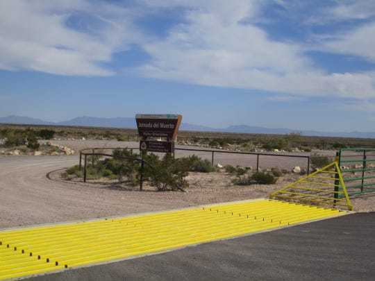 Hikers will appreciate the access to the Jornado del Muerto trail via the southern road.