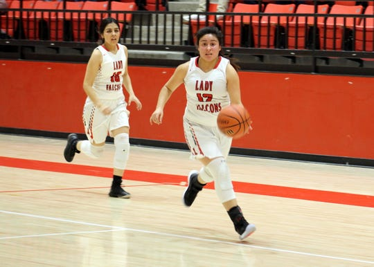 Loving's Angelica Villegas was named the District 4-2A Co-Player of the Year.