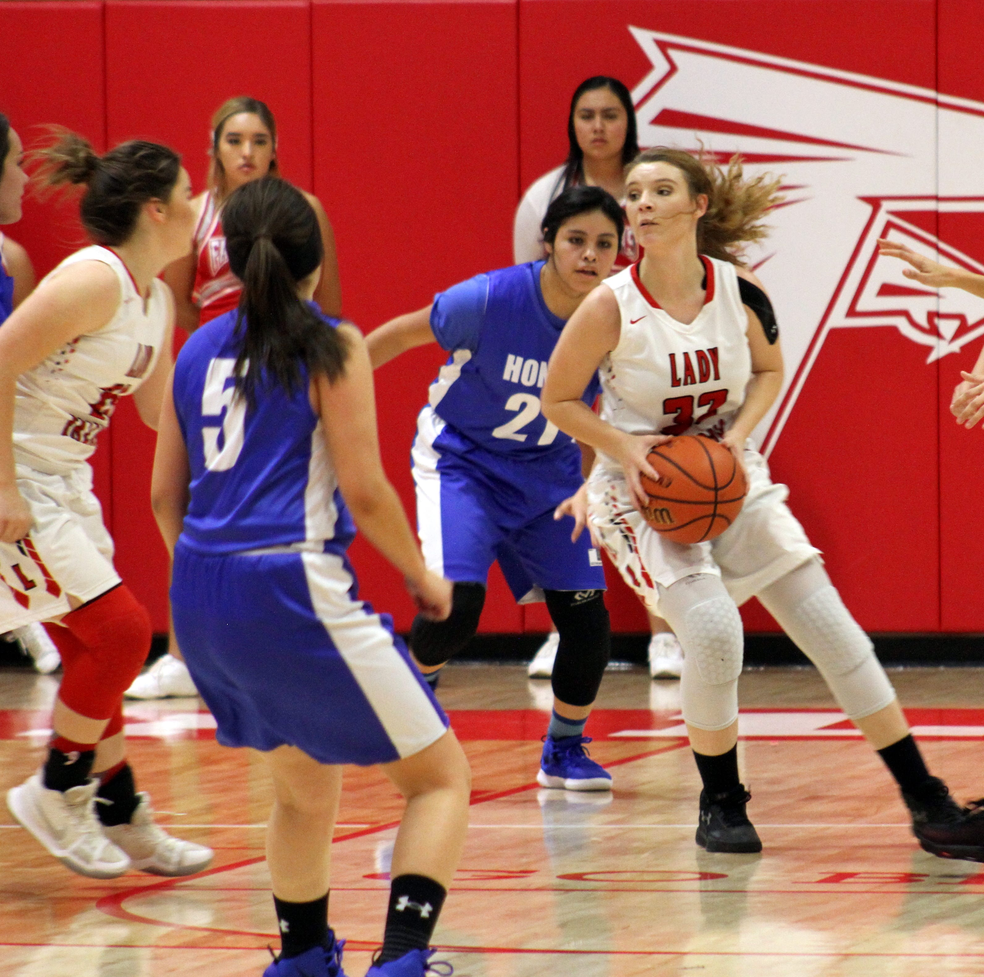 Depleted Loving Lady Falcons fall to Hondo Valley Eagles