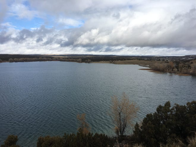 The city of Farmington is building a trail that will connect Farmington Lake to the Glade Run Recreation Area.