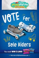 This is the promotional poster for the Sole Riders.