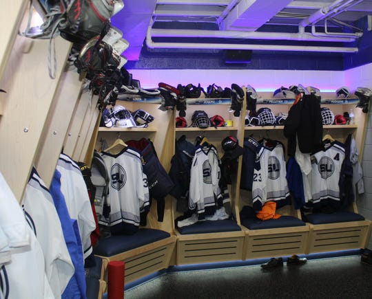 South Lyon Unified's new locker room is a sense of pride to players and fans and the envy of opposing teams.