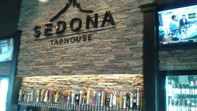 The bar at Sedona Taphouse's Novi location will look similar the Troy location, shown in the photo.