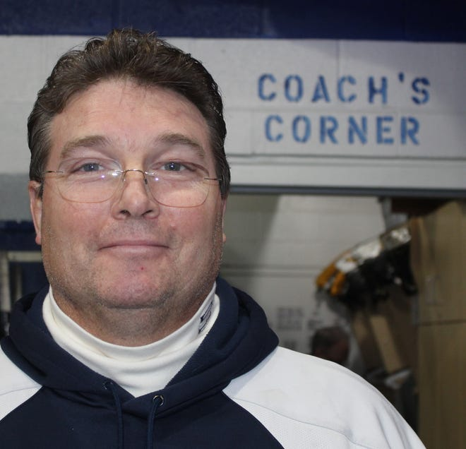 South Lyon Unified's veteran head coach Bill McCreary simply said the new locker room facility at the Kensington Valley Ice House 'was due.'