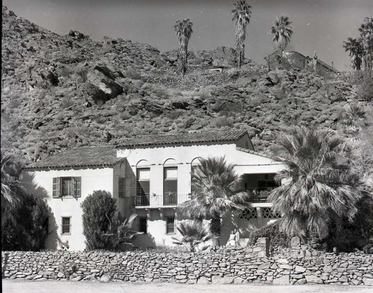 Bishop House in 1949.