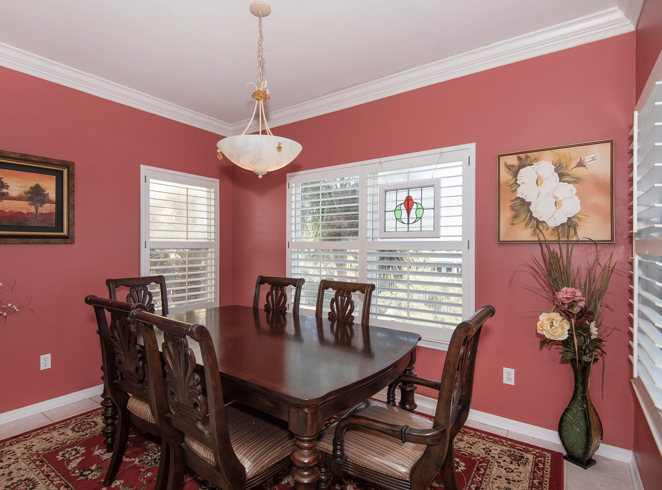 1 La Caribe Dr.The formal dining space.