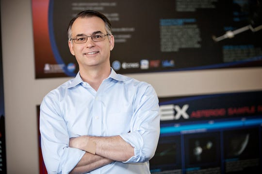 Dante Lauretta, a professor of planetary science at the University of Arizona's Lunar and Planetary Laboratory, is the principal investigator for the OSIRIS-REx mission.