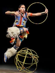 Award-winning hoop dancer Tony Duncan will perform at Pueblo Grande Museum's Indian Market