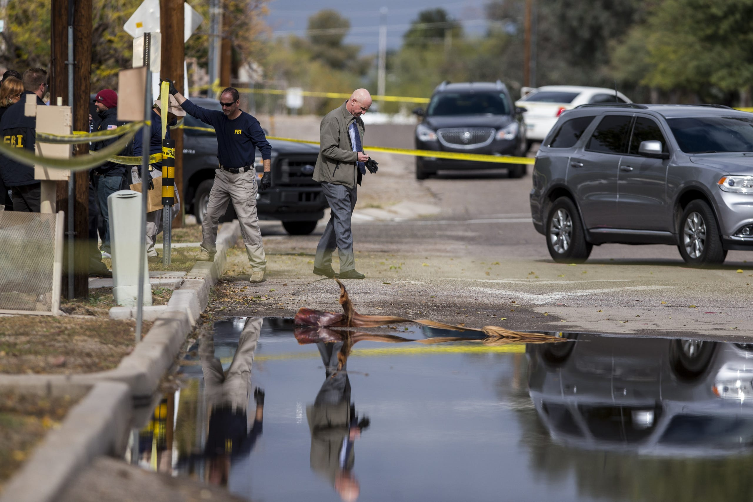 U S  marshal is shot and killed in Tucson