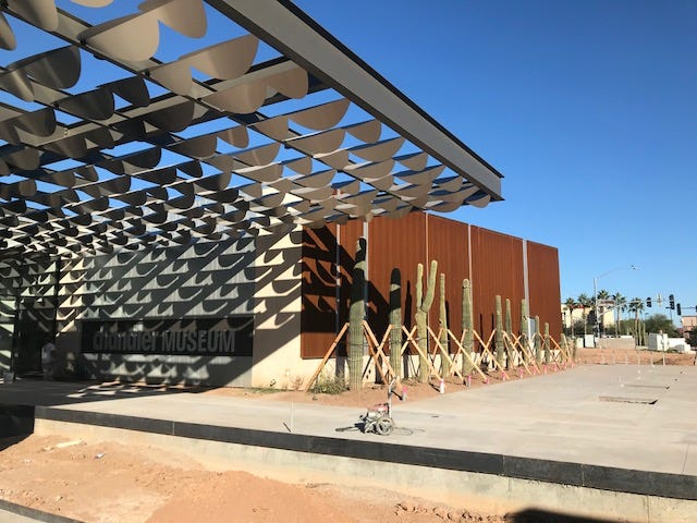 The new Chandler Museum will open on Dec. 8 at 300 S Chandler Village Drive.