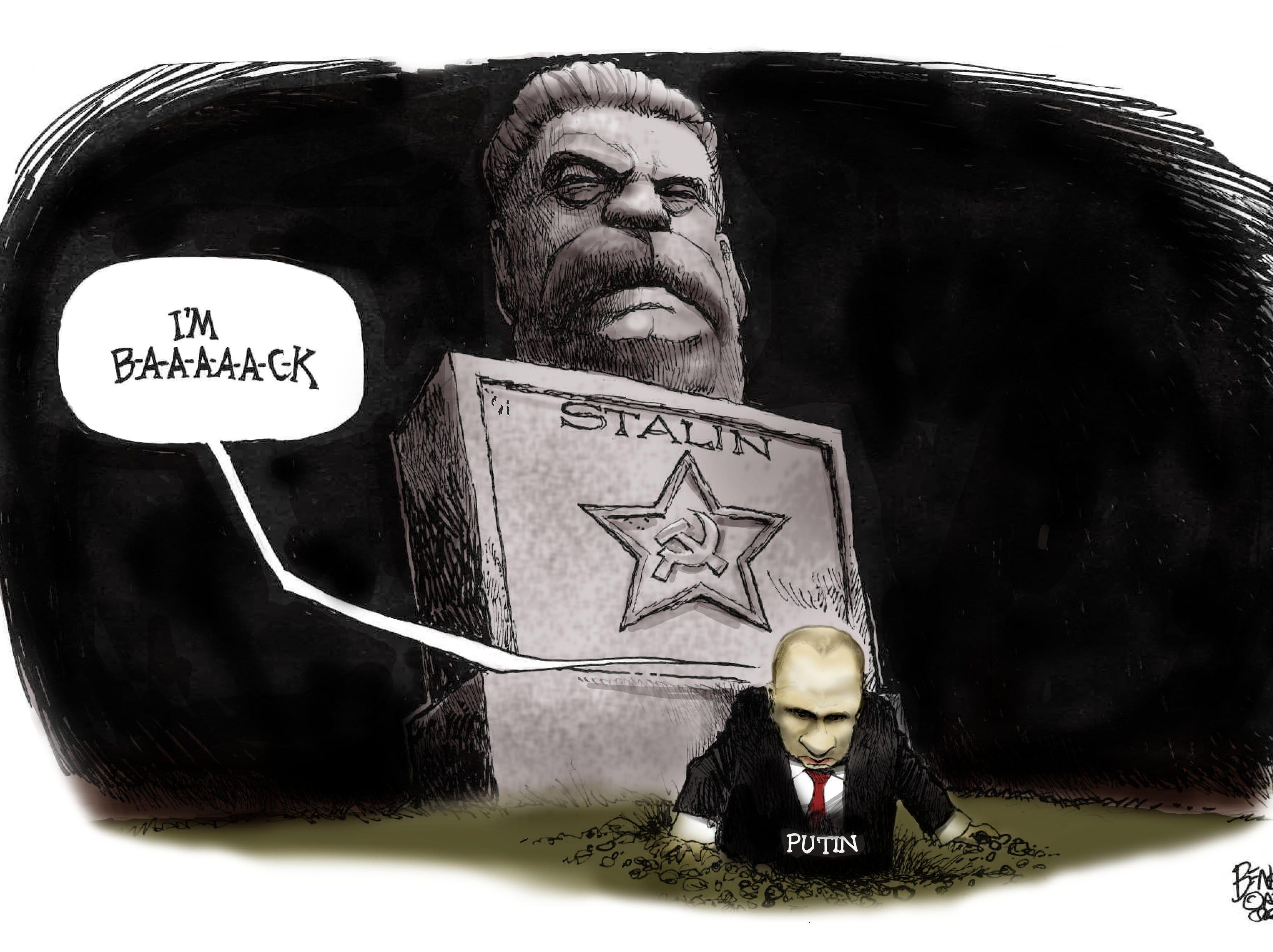 Cartoon for Nov. 30, 2018.