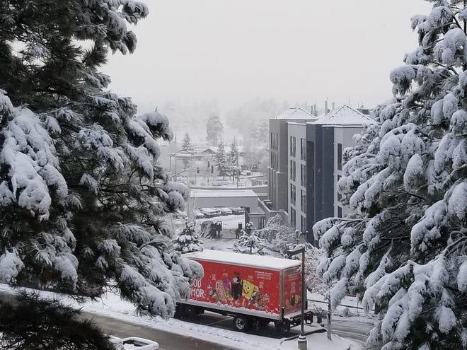 A winter scene in Flagstaff on Nov. 30, 2018.