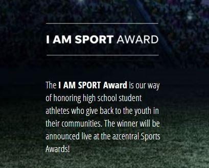 I AM SPORT award contest