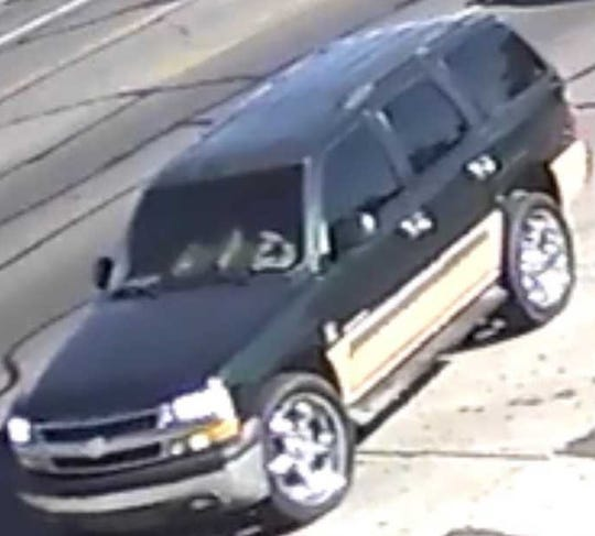 A 2001-2004 dark green over gold Chevy Tahoe driven by an unidentified suspect was used in the burglary and arson of a Phoenix home on Nov. 26.
