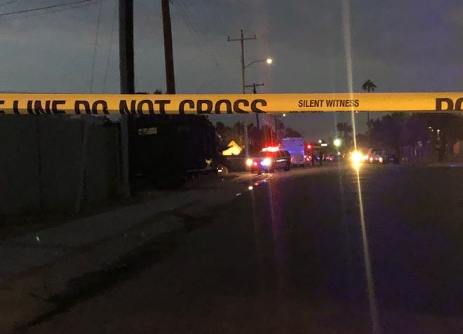 Police responded to an officer-involved shooting Thursday night.