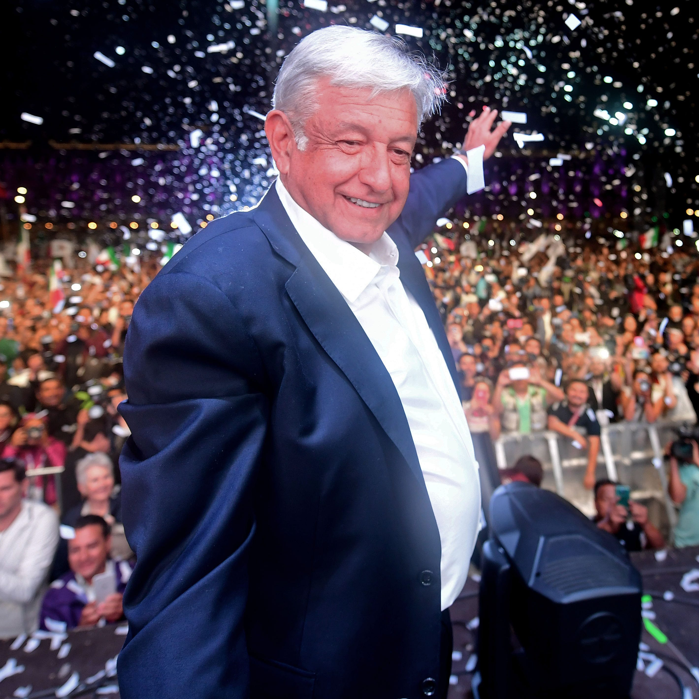 Nuevo presidente de izquierda promete transformar México