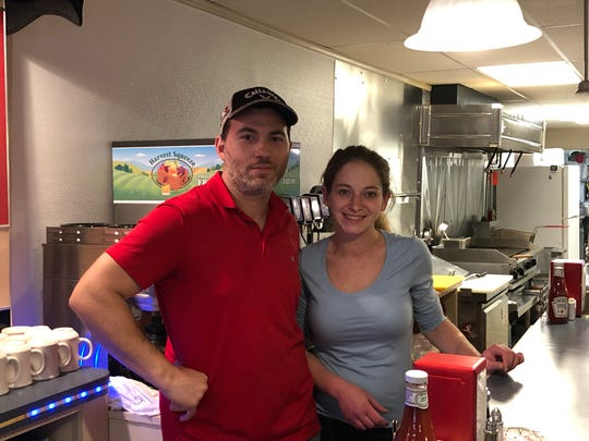 Robert Nunez and his fiance Amanda are excited to introduce Richland residents to Robert's Diner.